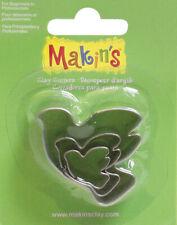 Makin's Clay Cutters 3/Pkg-Dove, M360-12