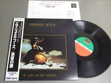 EMMANUEL BOOZ LE JOUR OU LES VACHES Japan LP wOBI G/F