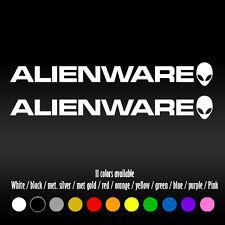 "6"" Alienware PC Laptop Diecut Bumper Car Window Vinyl Decal sticker"