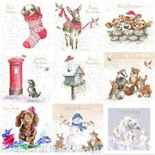 Wrendale Small Single Christmas Card