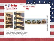 Titanium M8x 15 20 25 30 35 40 mm DIN 6921 Hex Head Flange Bolt Screw Fastener