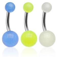 """Titan Bauchnabel Piercing UV Ultra """"Glow"""" Must Have -- PIERCINGS von COOLBODY"""