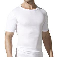 2 Paquete Götzburg Hombre Camisetas interiores Camisetas Acanalado Blanco 641133