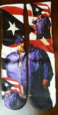 Custom Big Pun DRY FIT socks hip hop Puerto Rico Boriqua Bronx