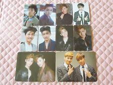 TVXQ DBSK 6th Album Catch Me Photocard KPOP SM U-Know Yunho Max Changmin