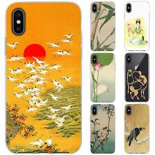 dessana Japanische Kunst Silikon Schutz Hülle Case Handy Tasche Cover für Apple