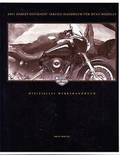 HARLEY-DAVIDSON Werkstatthandbuch 2001 FXD Dyna Modelle DEUTSCH Buch 99481-01G