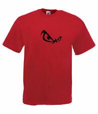 Fun Evil Yeux Design Graphique Haute Qualité 100% coton à manches courtes T-Shirt