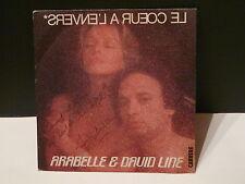 ARABELLE & DAVID LINE Le coeur a l envers 50002 Dédicacé devant