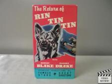 Return of Rin Tin Tin (VHS, 1987) Robert Blacke, Donald Woods, Claudia Drake