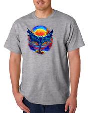 USA Made Bayside T-shirt Attitude Rebel Evil Wicked Bat