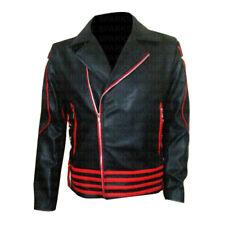 Freddie Mercury Stylish Singer Rock Concert Costume Leather Jacket - BIG SALE
