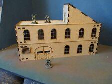 28 mm usine modèle (C) ou Sci Fi Building Scenery 3 mm MDF Laser Cut