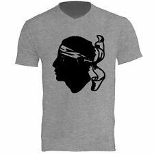 Tee shirt Homme Gris Corse