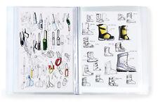 A3 A4 A5 Student artwork  20 pocket display presentation book portfolio folder