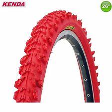 01022614GR Kenda MTB K-829 Fahrradreifen Mantel Decke Rot - 26 x 1.95 - 50-559