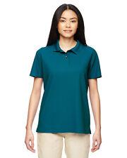 Gildan G448L Polo Shirt Womens Performance 4.7 oz. Jersey Polo NEW