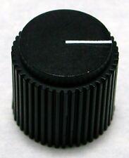 "New Black Rogan G-11 Gamma Control Knob 1/4"" D-Shaft"
