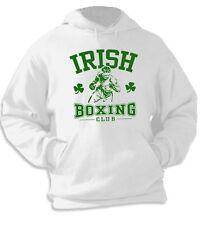 Felpa con cappuccio Sport hoodie KP25 Boxe Boxeur Irish Boxing Club Pugilato