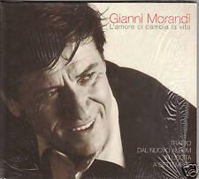 GIANNI MORANDI - L'amore ci cambia la vita - CDs SIGILL