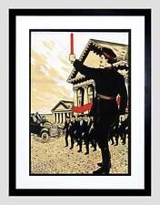 Político Leon Trotsky comunista Unión Soviética Vintage anuncio Art Print B12X1038