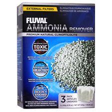 FLUVAL AMMONIA REMOVER 540g 3x 180g FILTER BAGS FISH TANK MEDIA AQUARIUM