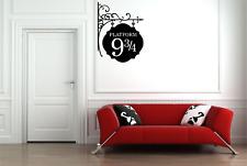Harry Potter Platform 9 3/4 Film Movie Train Decor Home Wall Decal Sticker FI24