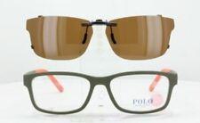 Custom Made for Polo Ralph Lauren PH2169-56X17-T Polarized Clip-On Sunglasses (E