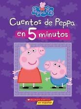 Cuentos de Peppa En 5 Minutos (Peppa Pig) (Hardback or Cased Book)
