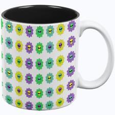 Halloween Alien Flowers All Over Coffee Mug