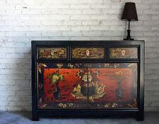 Opium Outlet Kommode Sideboard Anrichte Büffet China Kolonialstil Vintage bunt