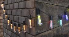 Led ad Energia Solare Vintage Edison Lampadina Filo di Luci Giardino, Esterno
