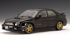 2001 SUBARU IMPREZA NEW AGE WRX STi BLACK AUTOart 1/18th Scale NEW LOWER PRICE