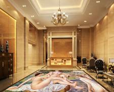 3D sexy pittura a olio Pavimento Foto Wallpaper Murales Muro Stampa Decalcomania
