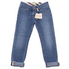 8716Q jeans blu bimba BURBERRY kids children pants trousers