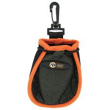 Pro-Tekt Golf Ball Washer New Cleaner Keep Clean Neoprene Pouch Bag Belt Clip