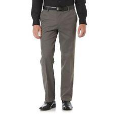 Dockers Mens Pants Straight Flat Front Striped Khaki size 29 30 31 32 40 NEW