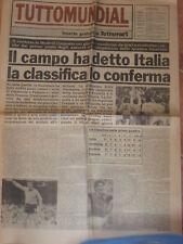 TUTTOSPORT 14 LUGLIO 1982  TUTTO SUL MUNDIAL SPAGNA