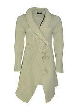 TAVIANI cardigan donna  lungo lavorazione a maglia taglio asimmetrico in SALDO