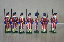 Eire Replica Models Patrick Campbell Holgar Eriksson Swiss Guards Striped x 7 mv