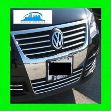 2006-2011 VW VOLKSWAGEN PASSAT B6 CHROME TRIM UPPER/LOWER GRILL GRILLE W/WRNTY