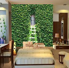 3D Outside Window Green Wall 31 Wall Paper Wall Print Decal Wall AJ Wall Paper