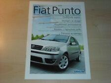 24233) Fiat Punto Polen Prospekt 2003