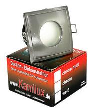 12V Bad & Dusche Feuchtraum 3W GU5.3 LED Downlights Spots IP65 EEK A+ Niedervolt