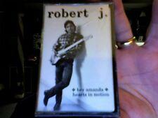 Robert J.- Hey Amanda/Hearts in Motion- new cass single