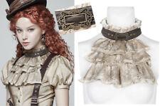 Col jabot collier steampunk gothique lolita victorien dentelle boucle PunkRave B