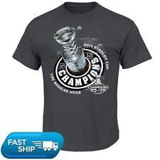 Los Angeles Kings 2014 NHL Stanley Cup  Champions Official Locker Room Tee Shirt