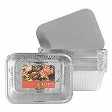Aluminum Foil Pan Disposable Roaster Pan for Baking Cooking - 5 Lb