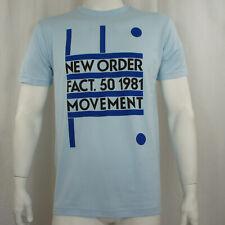 Authentic NEW ORDER Fact. 50 1981 Movement Logo T-Shirt S M L XL XXL NEW