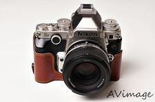 [TP] <EZ> Camera Half Case for Nikon DF Genuine Leather